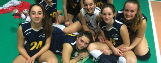 L'Under 16 del Celle Varazze Volley a Finale