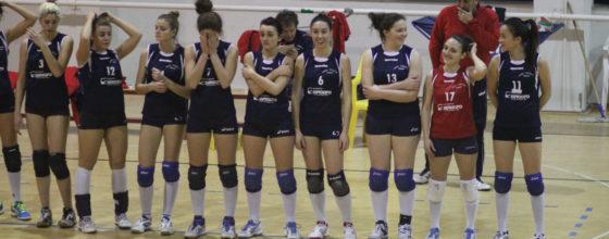 La prima squadra femminile del Celle Varazze Volley