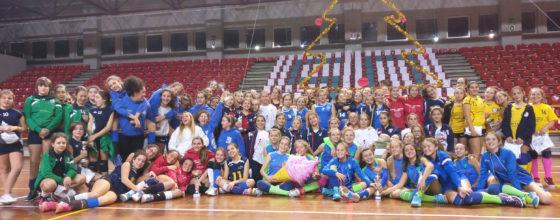 Tutte le partecipanti al torneo Under 13
